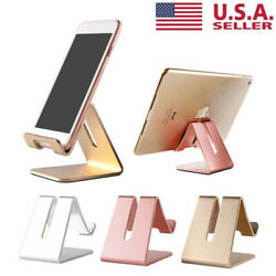 Universal Cell Phone Tablet Desktop Stand Desk Holder Mount Cradle Aluminium US $6.44