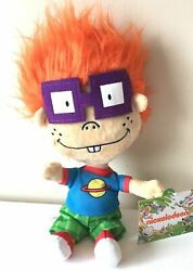 Rugrats Nickelodeon Chuckie Finster Doll Plush 11 inch Toy. Licensed. New. $15.99