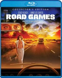 ROAD GAMES New Sealed Blu-ray Collector's Edition Stacy Keach Jamie Lee Curtis
