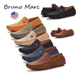 Bruno Marc Men Driving Loafers Dress Shoes Casual Slip On Flat Moccasins 6.5-15 $23.78