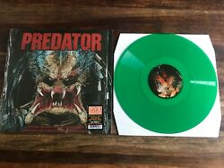 Predator Soundtrack LP FYE Exclusive Green Blood vinyl