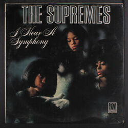 SUPREMES: I Hear A Symphony LP Sealed (couple sm tears in shrink light foxing