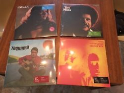 Vinyl Me Please 4 Brazil Exclusives LPs Antonio Carlos Tim Maia Celia Toquinho