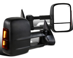Power Towing Mirror with Heat Signal FOR 03-06 Chevy Silverado GMC Sierra