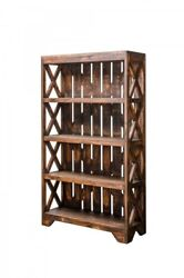 ANTIQUE BOOKCASE RUSTIC For Sale $350.00