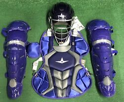 All Star System 7 Axis Youth 10-12 Catchers Gear Set - Purple $349.95
