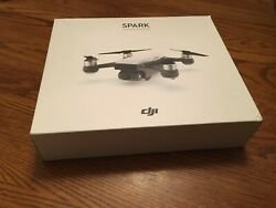 DJI Spark Quadcopter and Controller Combo in Alpine White FREE SHIPPING $430.00