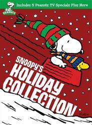 SNOOPY#x27;S HOLIDAY COLLECTION New Sealed 3 DVD Set Peanuts Charlie Brown $19.95