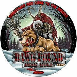 Dawg Pound Disc Golf Full Foil Release #4 Pre order only!
