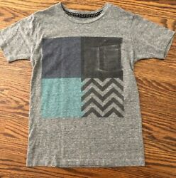 Cohesive amp; Co. Designer Boys#x27; Gray Graphic Tee Shirt Size M $30 GUC