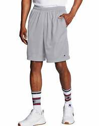Champion Shorts Pants Pockets Mens Long Mesh Athletic Fit Gym Basketball Workout $25.00