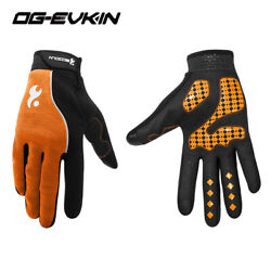Long Full Finger Cycling Gloves Gel Bike Motorcycle Mountain Gloves Touchscreen $21.23