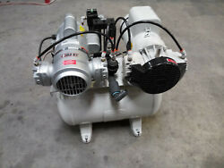 CustomAir RamVac Dental Compressor Model 1025D RAM VAC CUSTOM AIR FREE SHIPPING $1999.00