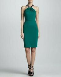 Authentic celebrity owned NWT Jason Wu emerald green cocktail dress size 4 $270.00