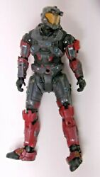 Halo Reach Mcfarlane Spartan Red Steel and Gray Operator Figure