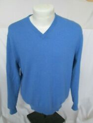 MEN'S CHATER CLUB CASHMERE SWEATER SIZE MEDIUM