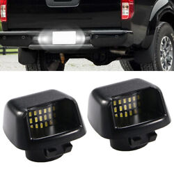 LED License Plate Lights Lamp For 2007 2019 Nissan Frontier Armada Titan Xterra $12.88