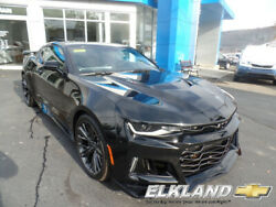 2020 Chevrolet Camaro ZL1 6 Speed Manual MSRP $67525 New 2020 Chevy Camaro ZL1 Black Coupe 6 Speed Manual Sunroof Supercharger