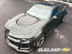 2020 Chevrolet Camaro ZL1 Rally Green Metallic Manual MSRP $67525 NEW 2020 Chevy Camaro ZL1 Rally Green Metallic 6 Speed Manual Sun Roof PDR