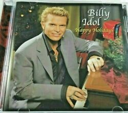 BILLY IDOL HAPPY HOLIDAYS RARE ORIGINAL CHRISTMAS OUT OF PRINT 2006 CD Excellent
