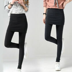 Women Leggings Pants Leggings Plus Size Fashion High Waist Pants Skirt Sports $17.77