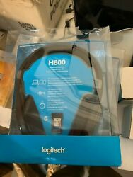 NEW! Logitech - H800 Wireless Headset - Black New in the package