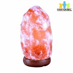 Manasil Himalayan Salt Natural Lamp Large 11 13 lbs 10 inch PS 03 $27.98