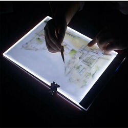A4 Ultra-thin LED Light Box Tracer USB Power Dimmable Brightness LED Tracing Pad $14.99