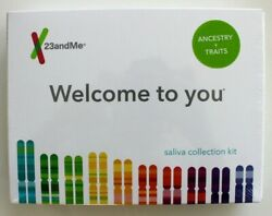 23andMe DNA Test ANCESTRY + TRAITS All Lab Fees INCLUDED EXP 2021 New