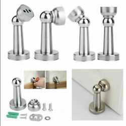 Stainless Steel Strong Magnetic Door Stop Stopper Holder Door Stay Suction  US $6.59