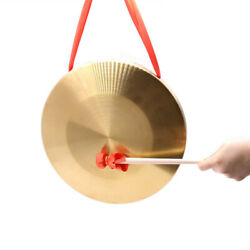 15.5cm 6Inch Diameter Metal Hand Cymbals Gong Band Percussion Set Musical Toys $11.83
