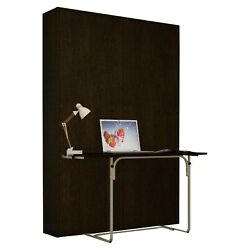 Elara Longa w DESK Collection by Murphy Bed NYC FULL SIZE WHITE Bed Wall Unit $1199.00