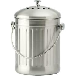 4.5L Stainless Steel Kitchen Composter with Filter C $37.73