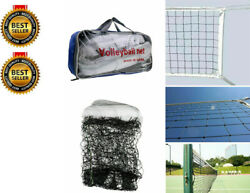 New Volleyball Net Beach Indoor Outdoor Official Size 32 FT x 3 FT USA Seller $18.99