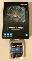 Surveyor Drone by Radio Shack with Built in 1080p Camera amp; Crash Pack NEW in Box $31.99