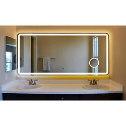 Innoci-USA Electra Rounded Arc Corner LED Lighted Vanity