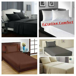 Egyptian Comfort 1900 Series Flat Bed Sheets FullQueen King Size Bed Top Sheet $13.90