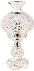 Waterford Inishmore Crystal Lamp Vintage 1950's Desk  table Lamp 14