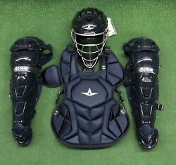 All Star System 7 Axis Youth 10-12 Catchers Gear Set - Solid Navy Blue $349.95