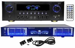 Technical Pro RX45BT Home Theater Receiver Bluetooth USB SD10 Band EqRemote $179.95