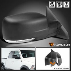 For 2013-2019 Ram 1500 LED Signal Power Fold Heated  Side Mirror Passenger Right