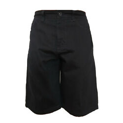 SOUTHPOLE MEN'S CORE DENIM SHORT STYLE NO 9001-3236  JET BLACK $26.99