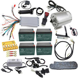 48v 1800w Brushless Motor Speed controller Reverse switch Wiring Harness Pedal $54.99