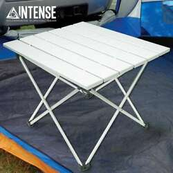 INTENSE Outdoor Portable Folding Aluminum Table Lightweight Camping Picnic + Bag $24.97