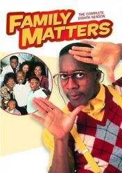 FAMILY MATTERS TV COMPLETE EIGHTH SEASON 8 New Sealed 3 DVD Set $26.19