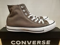NEW IN THE BOX CONVERSE CHUCK TAYLOR ALL STAR HIGH TOP CHARCOAL 1J793 SHOES MEN $49.99