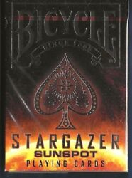 1 DECK Bicycle Stargazer Sunspot playing cards FREE USA SHIPPING