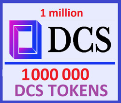 DCS 1000000 TOKEN CRYPTOCURRENCY 24HRS MINING CONTRACT 1 MILLION $7.99