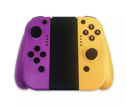 JALVDE for Nintendo Switch (L/R) Wireless Bluetooth Controllers Set- Purp/yellow $38.10