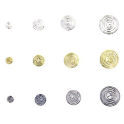 20Pcs Lantern Spring Spiral Bead Cages Pendants Alloy For DIY Necklace Jewelry $7.32